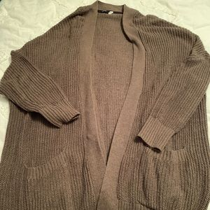 Oversized urban outfitters cardigan